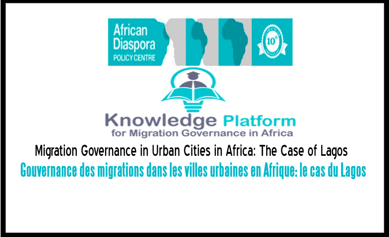 Migration Governance in Urban Cities in Africa: The Case of Lagos