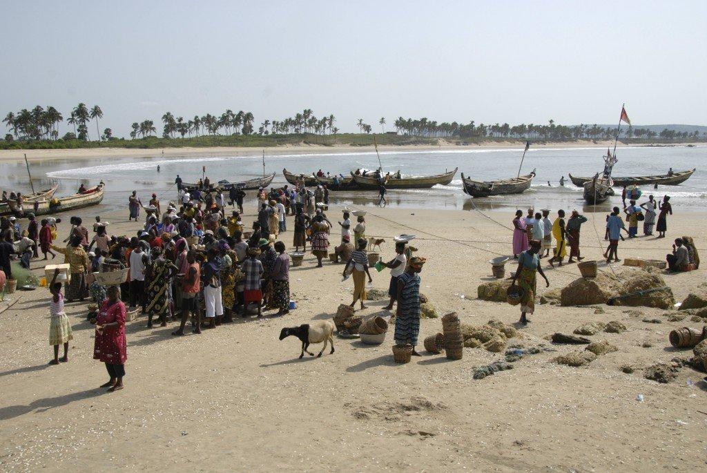 Ghana, near Dakar